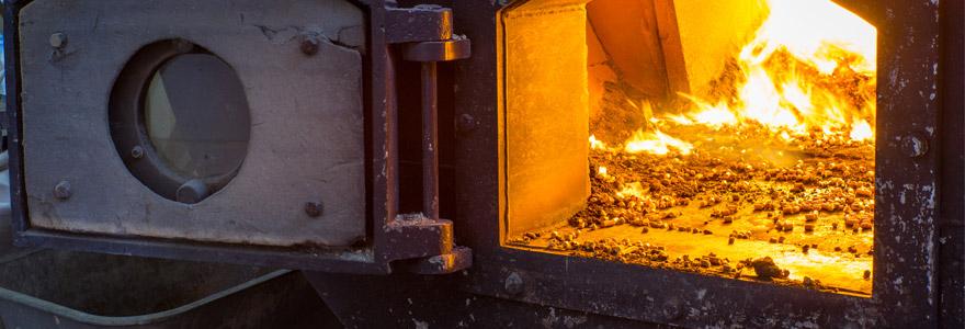 granulé de bois comme combustible